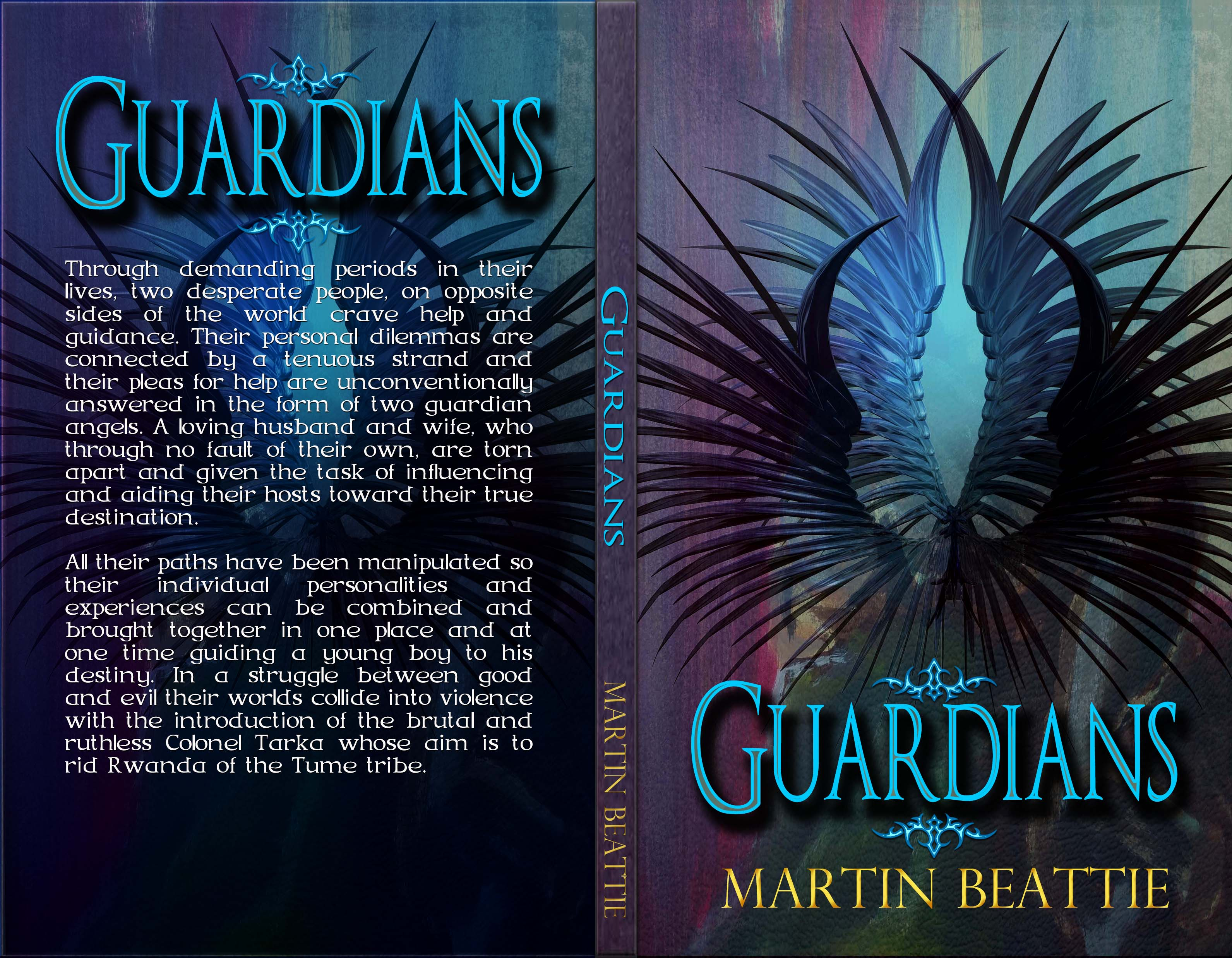 Book Cover Fonts Fantasy ~ Guardians print indie designz