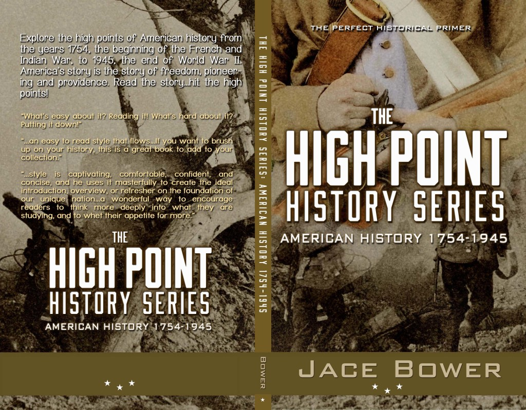 How To Create A Book Cover Design ~ New historical book cover design the high point history series